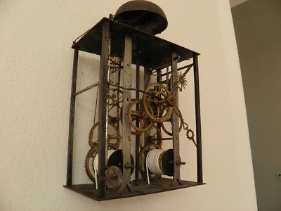 Riparazioni orologi antichi!!!Orologio a pendolo MORBIER (800')